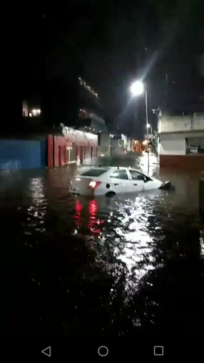 La tormenta también castigó con fuerza a Río Cuarto